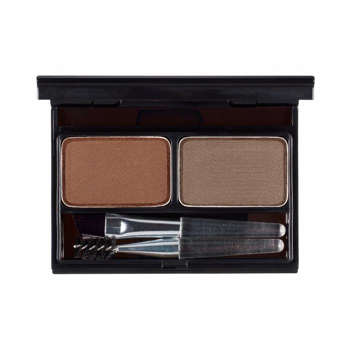 It's Skin It's Top Professional Eyebrow Cake 02 Choco Brown+Gray Brown