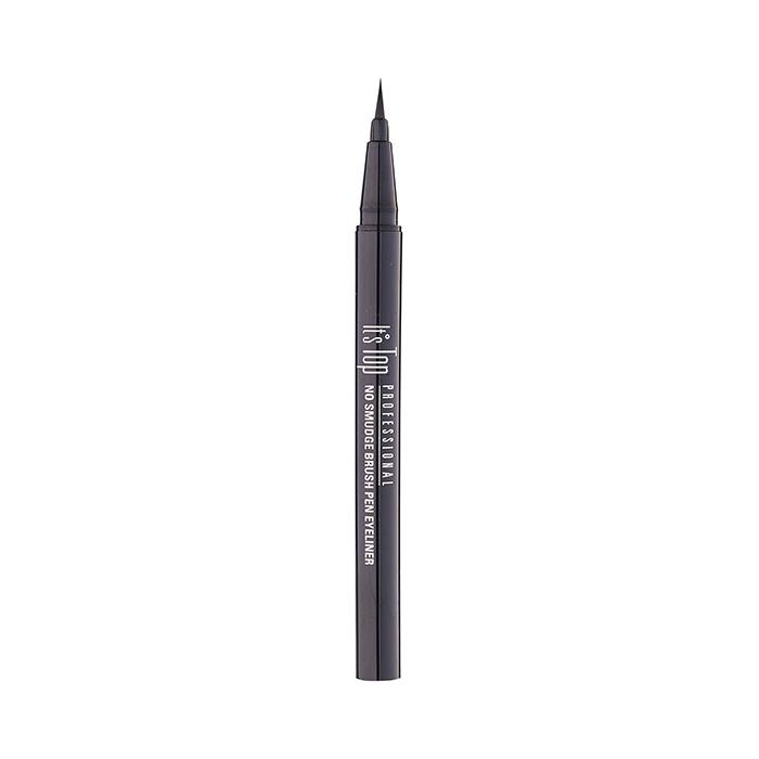 It's Skin It's Top Professional No Smudge Brush Pen Eyeliner 01 Black
