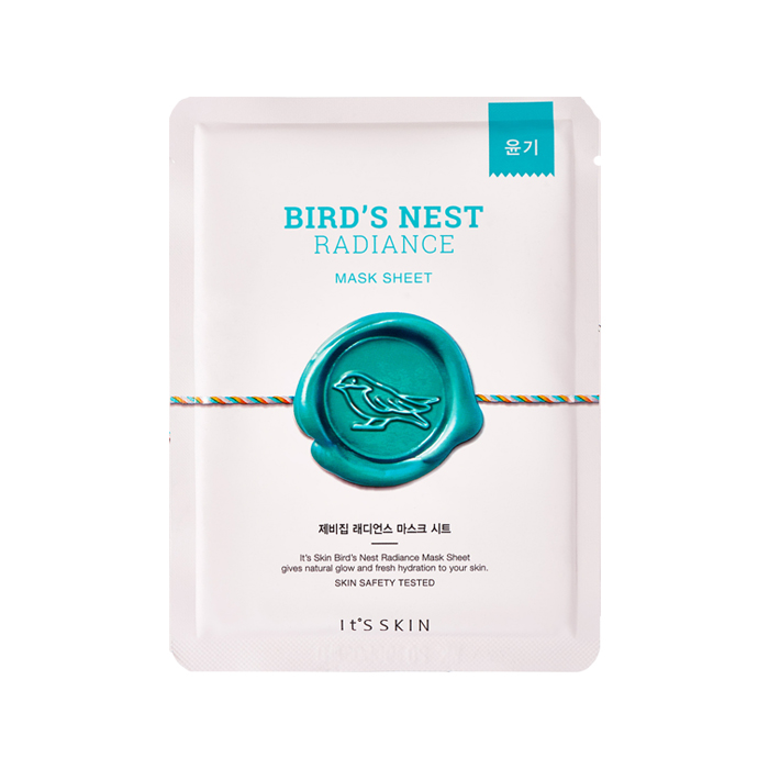 It's Skin Bird's nest Radiance Mask Sheet 1pcs